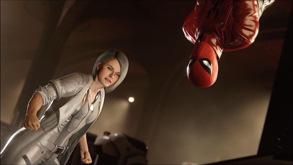 Sable and Spider-Man